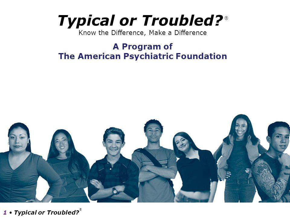The American Psychiatric Foundation