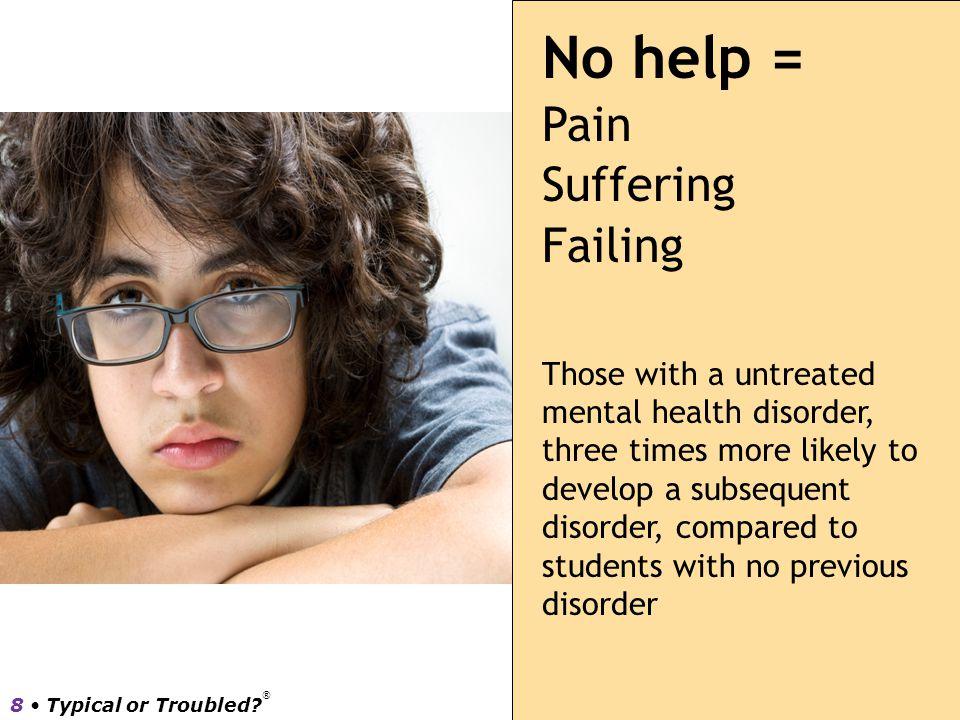 No help = Pain Suffering Failing
