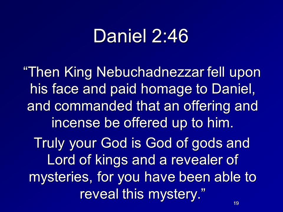Daniel 2:46