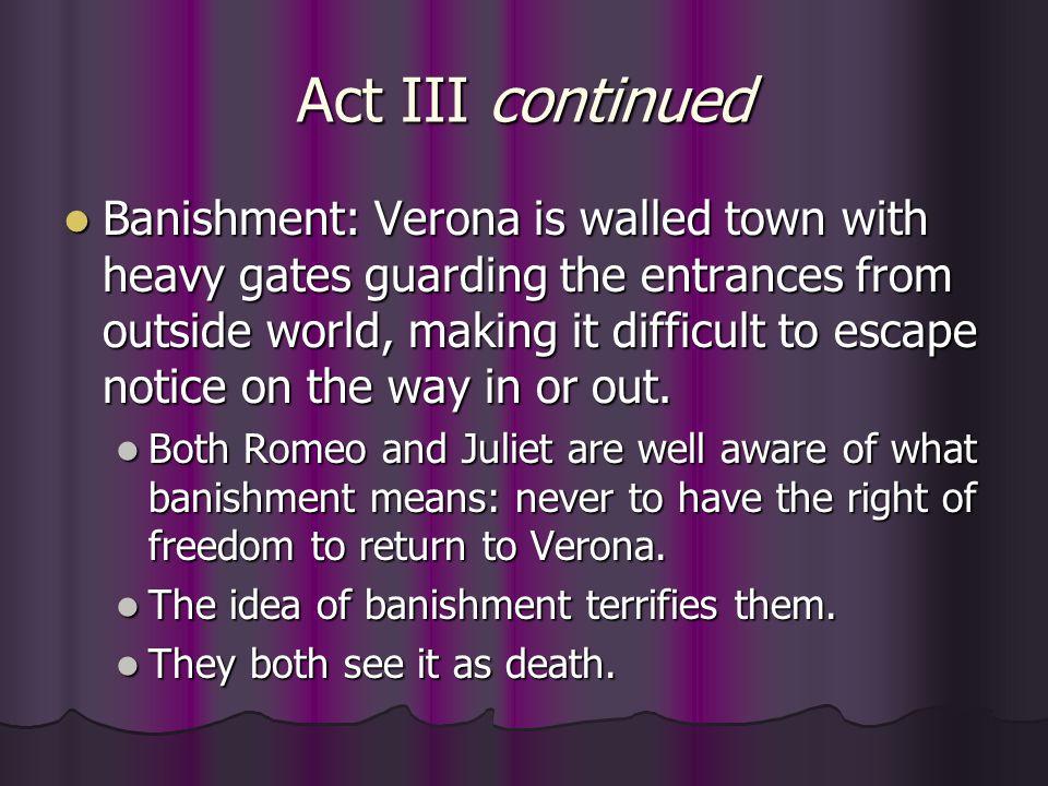 Act III continued