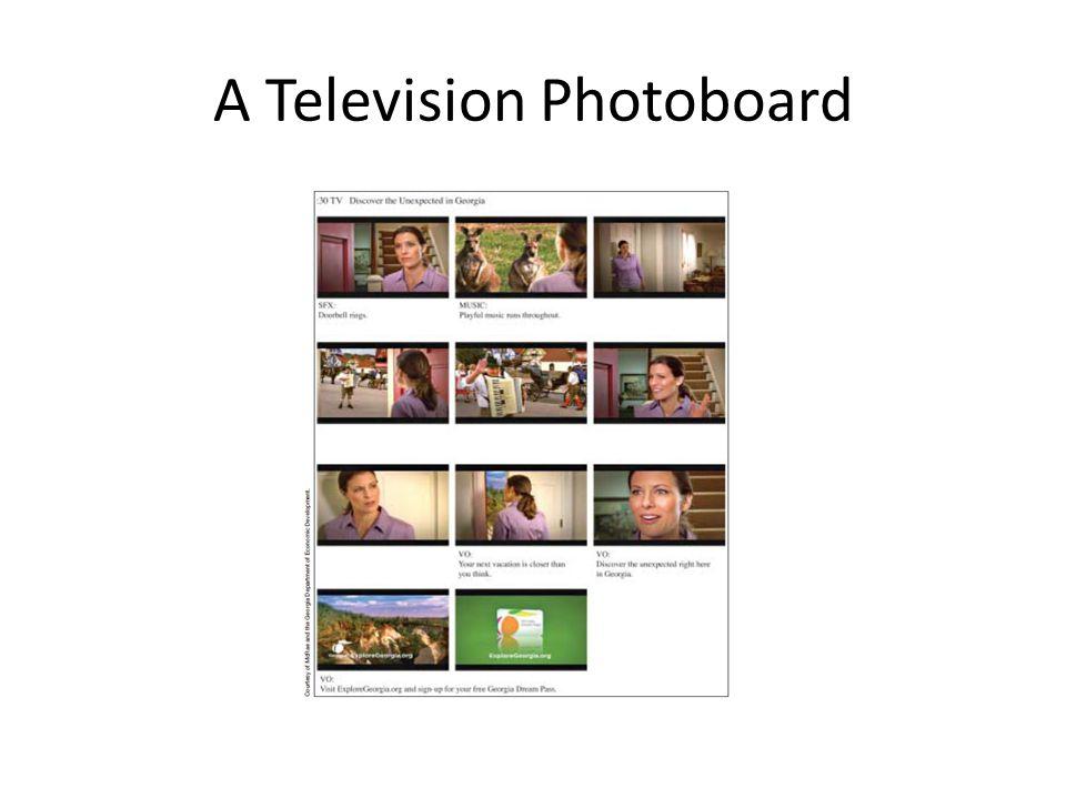 A Television Photoboard