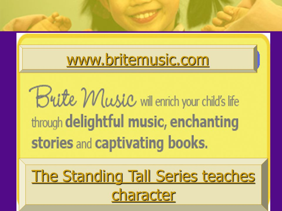 The Standing Tall Series teaches character