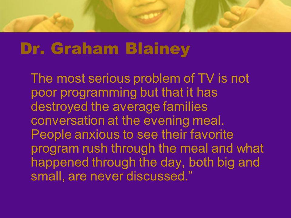 Dr. Graham Blainey