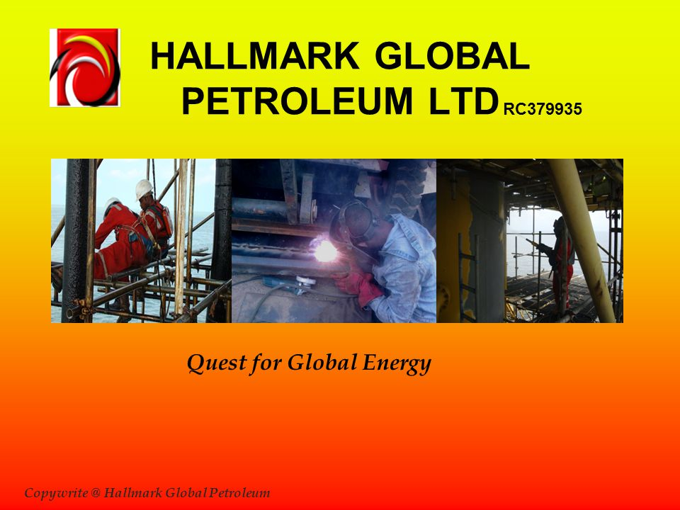HALLMARK GLOBAL PETROLEUM LTD