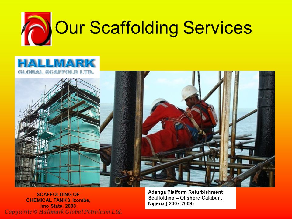 Our Scaffolding Services
