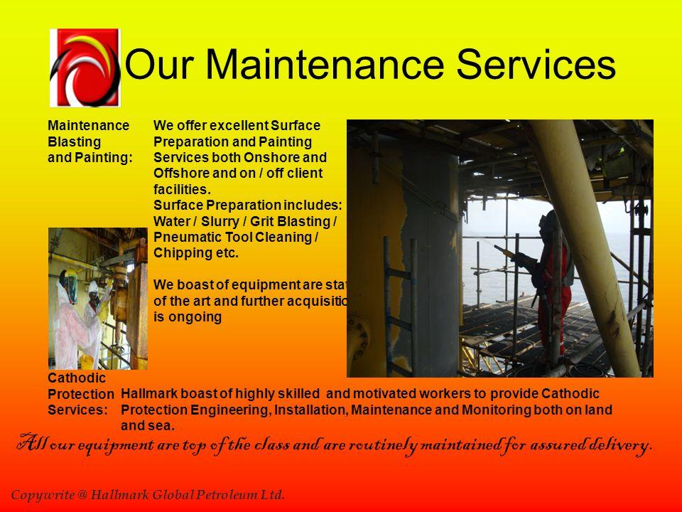 Our Maintenance Services