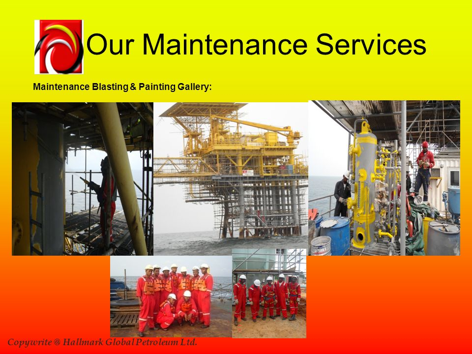 Our Maintenance Services