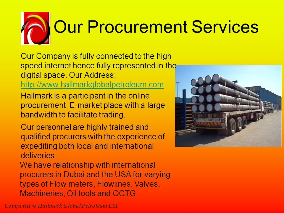 Our Procurement Services