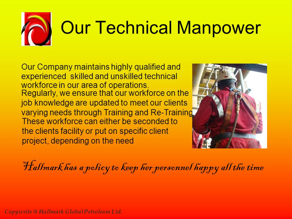 Our Technical Manpower