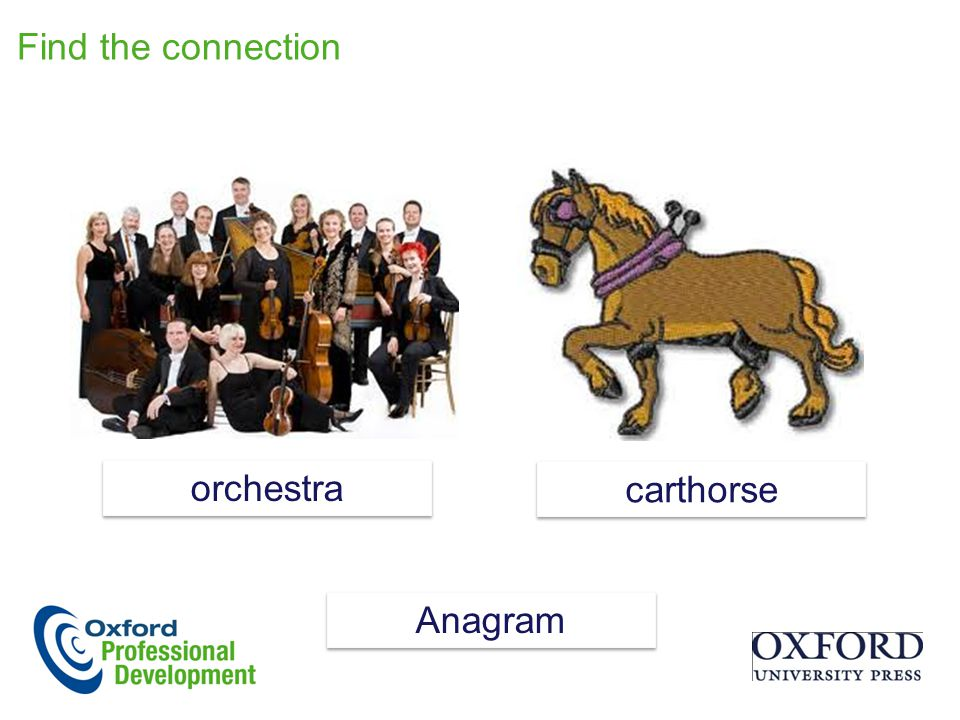 Find the connection orchestra carthorse Anagram