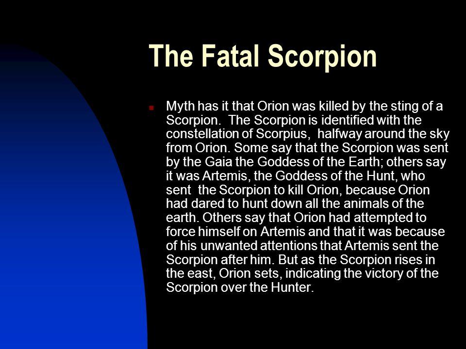 The Fatal Scorpion
