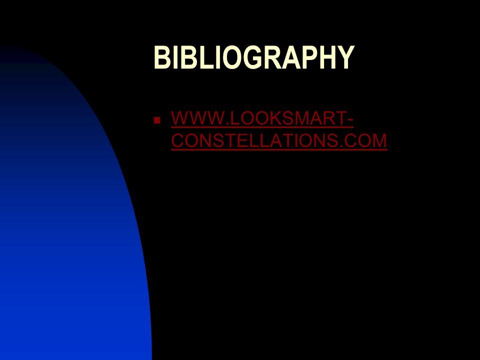 BIBLIOGRAPHY WWW.LOOKSMART-CONSTELLATIONS.COM