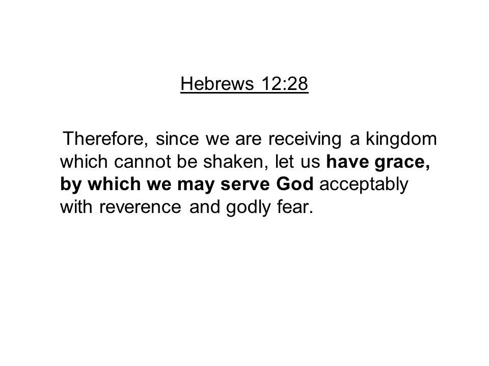 Hebrews 12:28