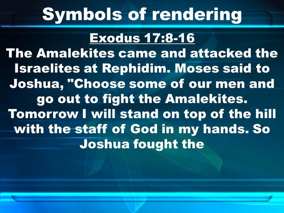 Symbols of rendering