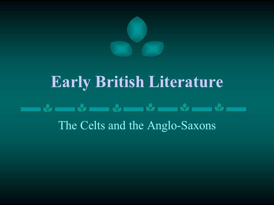 Early British Literature