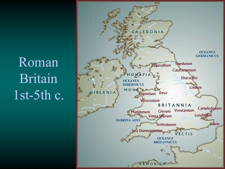 Roman Britain 1st-5th c.
