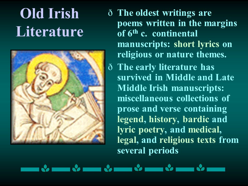 Old Irish Literature