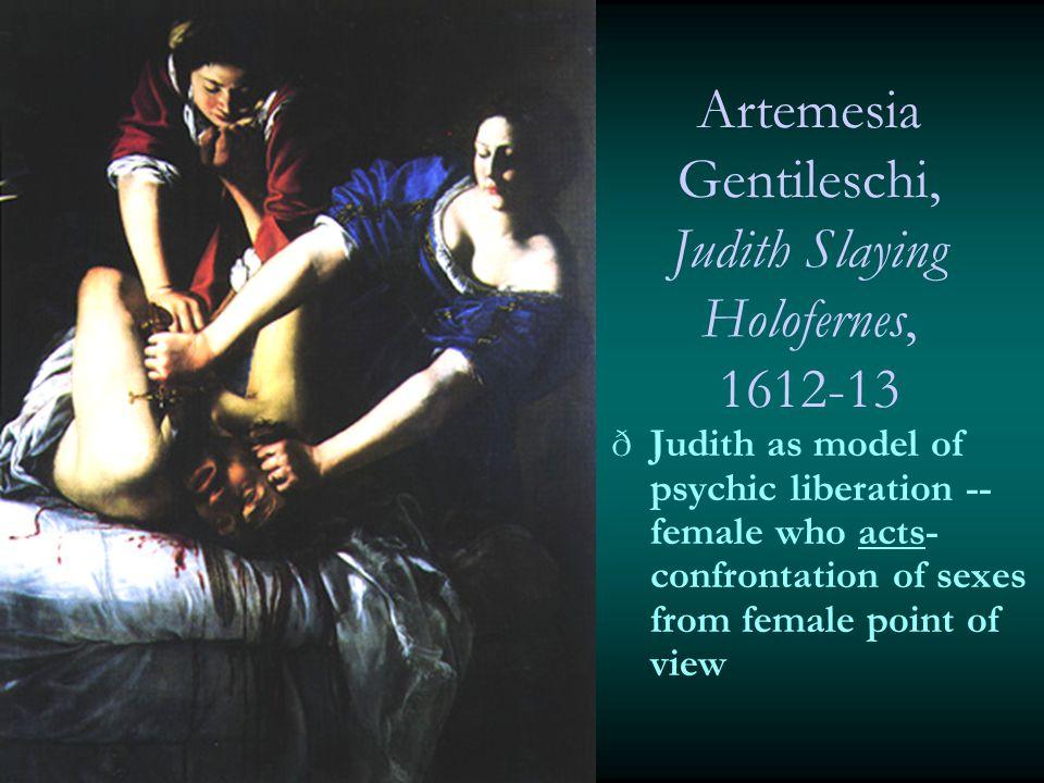 Artemesia Gentileschi, Judith Slaying Holofernes, 1612-13