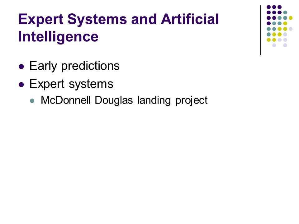 expert systems and artificial intelligence Applications of expert systems and artificial intelligence expert systems and from informatio 100 at universiti teknologi mara.