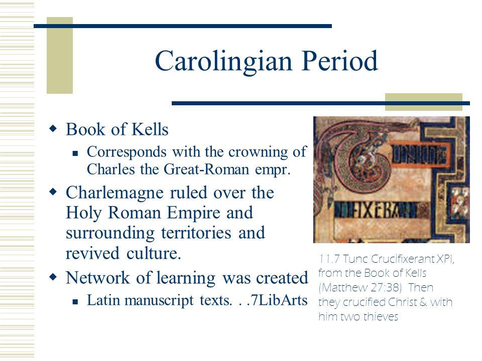 Carolingian Period Book of Kells