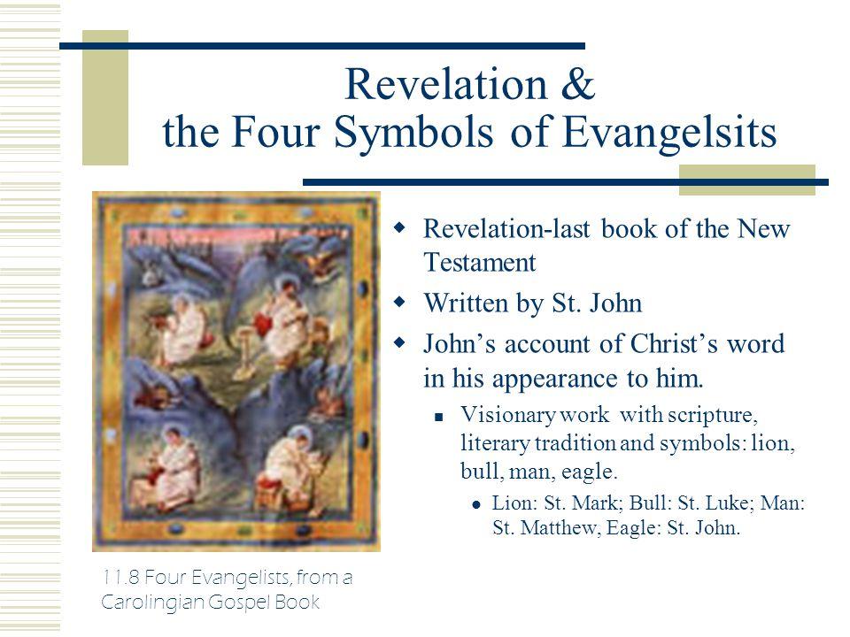 Revelation & the Four Symbols of Evangelsits