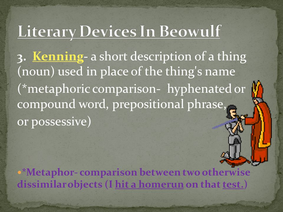 Literary Devices In Beowulf