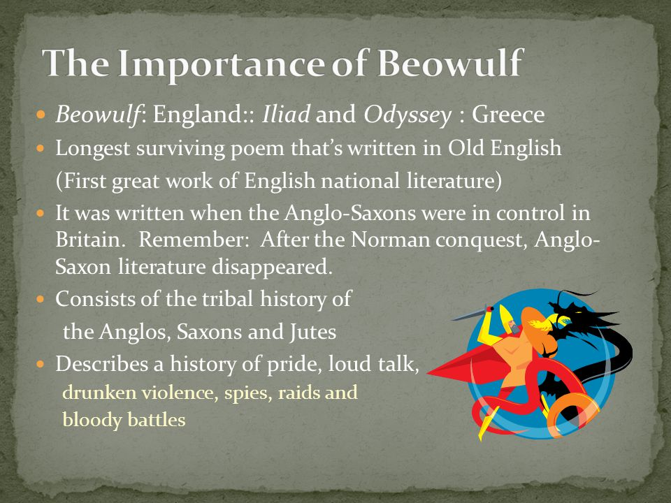 The Importance of Beowulf