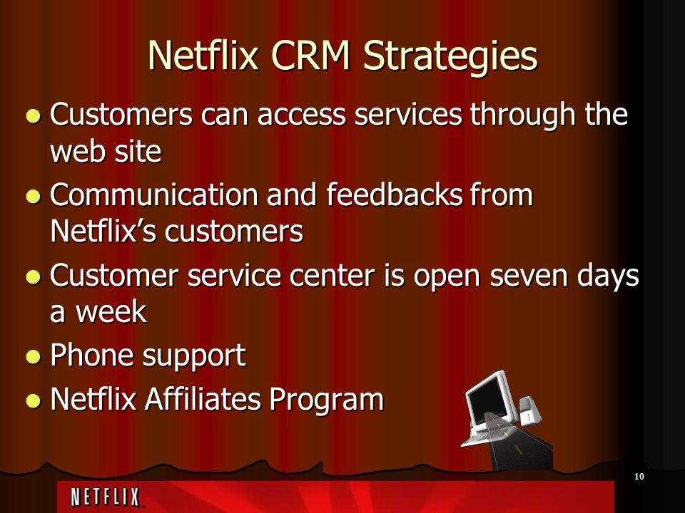 Netflix CRM Strategies