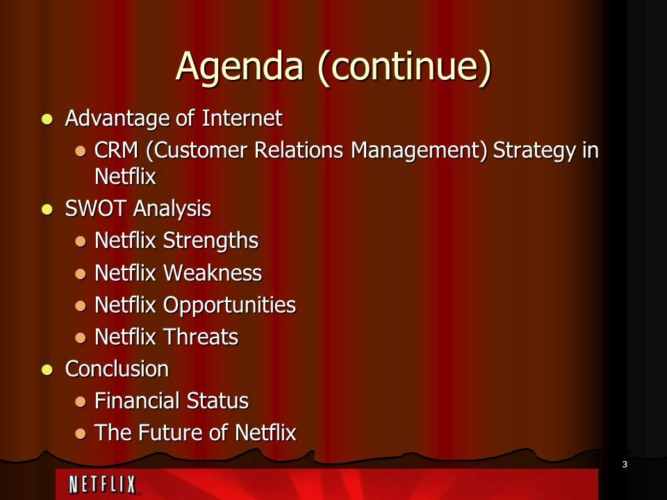 Agenda (continue) Advantage of Internet