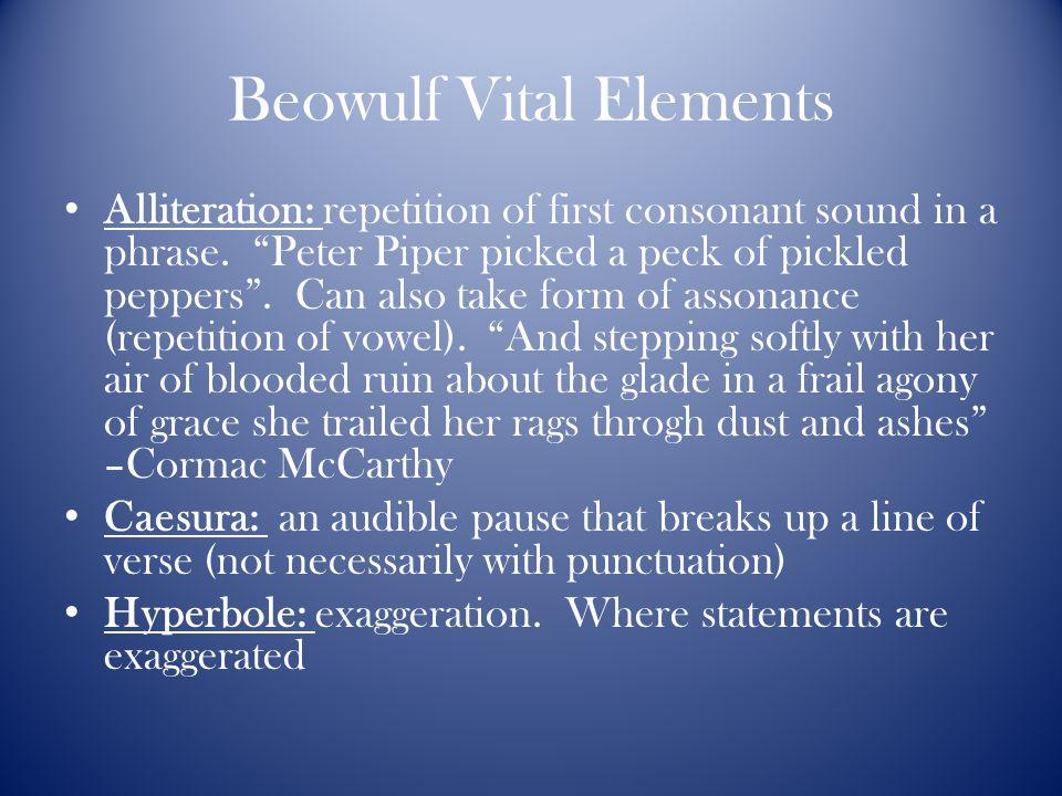 metaphors in beowulf