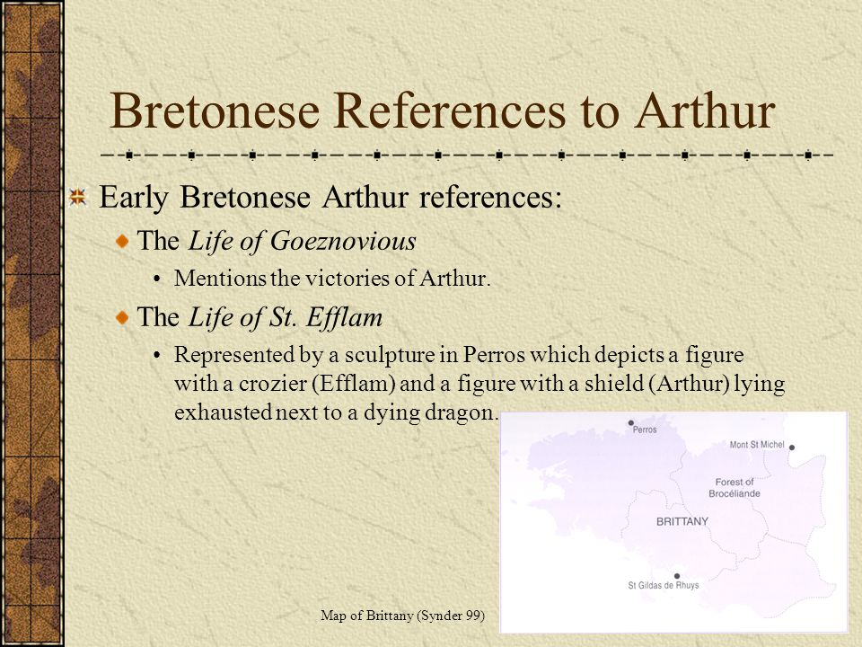 Bretonese References to Arthur