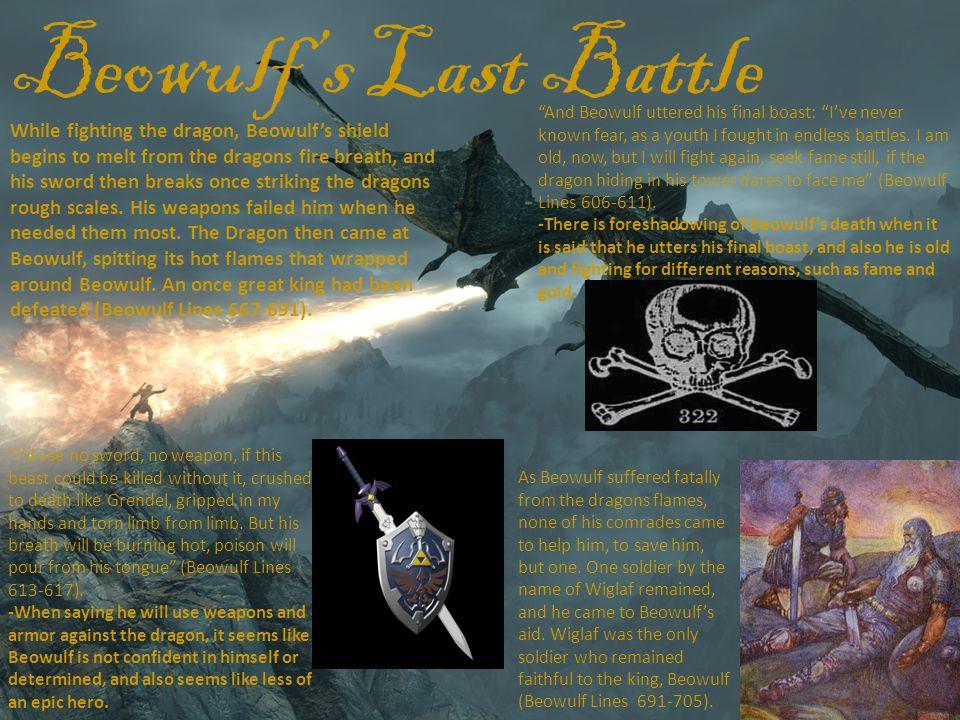Beowulf's Last Battle