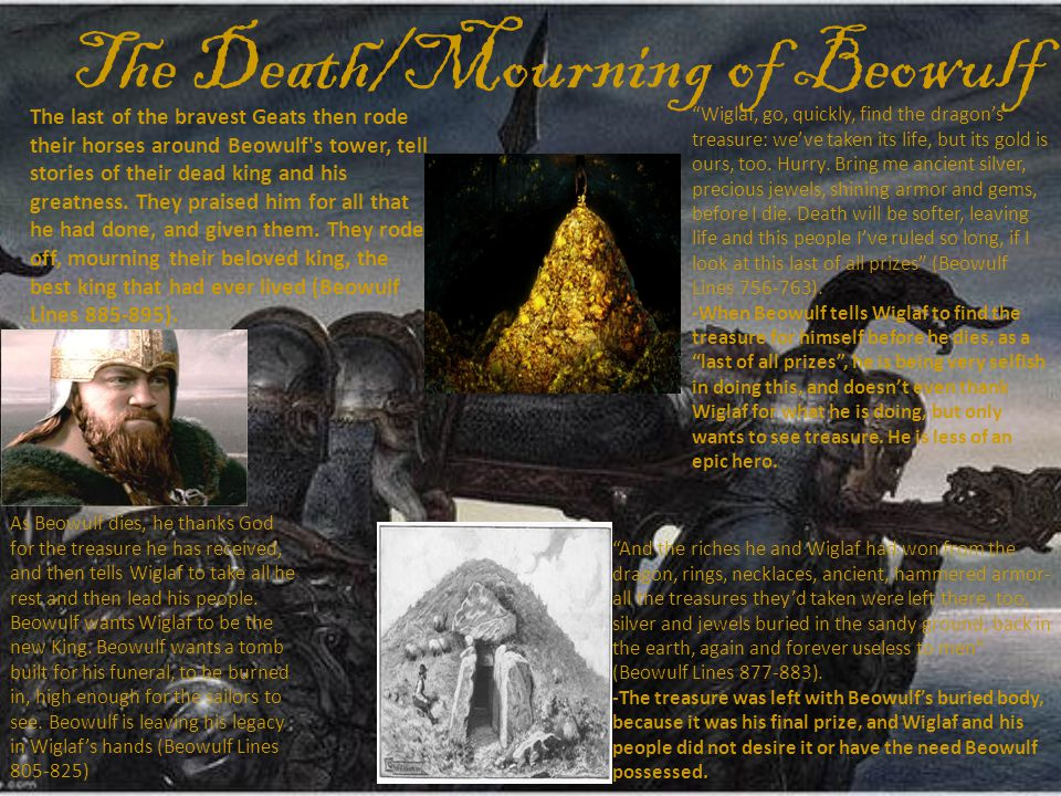 The Death/Mourning of Beowulf