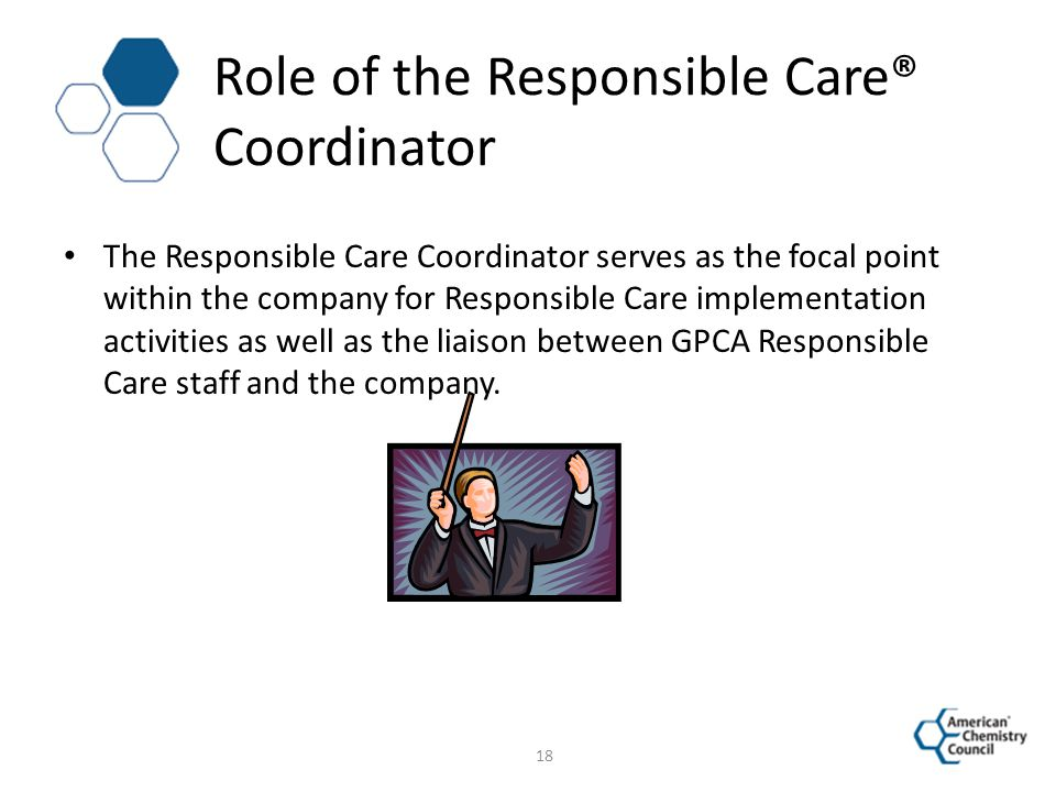 Role of the Responsible Care® Coordinator