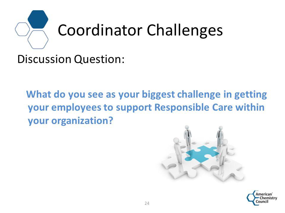 Coordinator Challenges