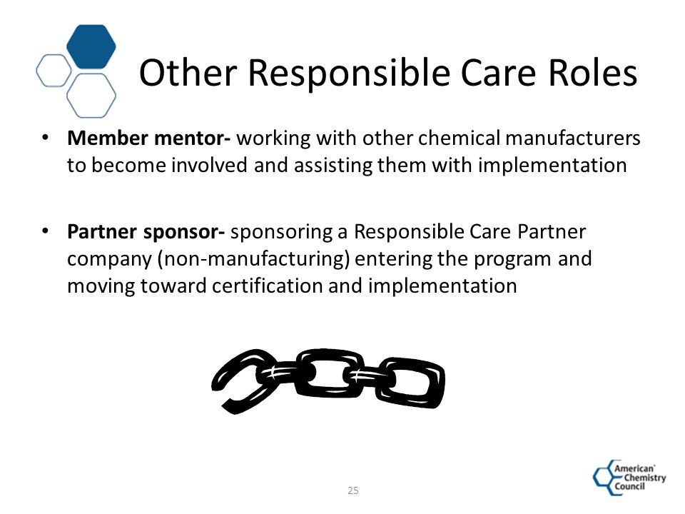 Other Responsible Care Roles
