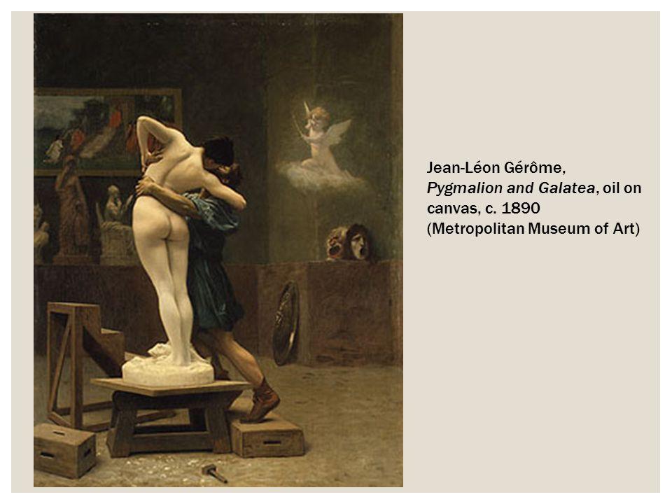 Jean-Léon Gérôme, Pygmalion and Galatea, oil on canvas, c
