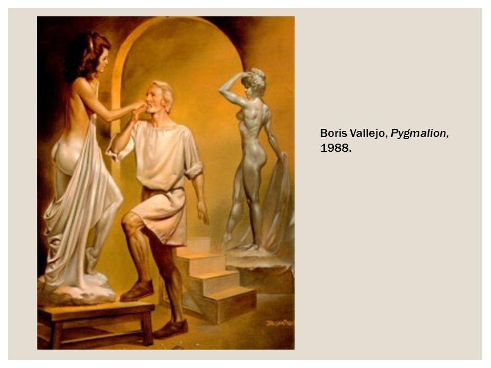 Boris Vallejo, Pygmalion, 1988.