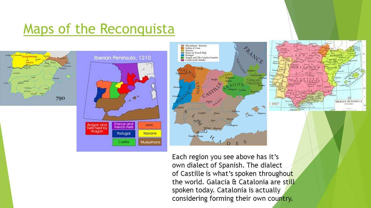Maps of the Reconquista
