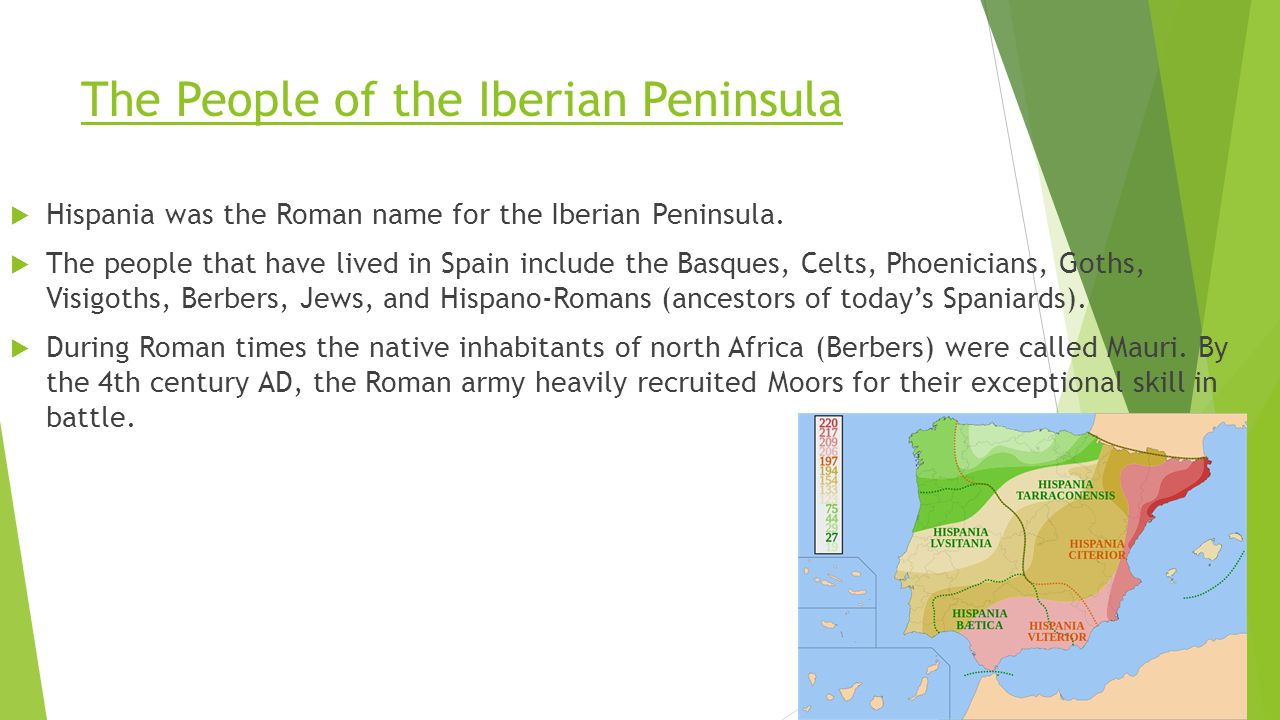 The People of the Iberian Peninsula