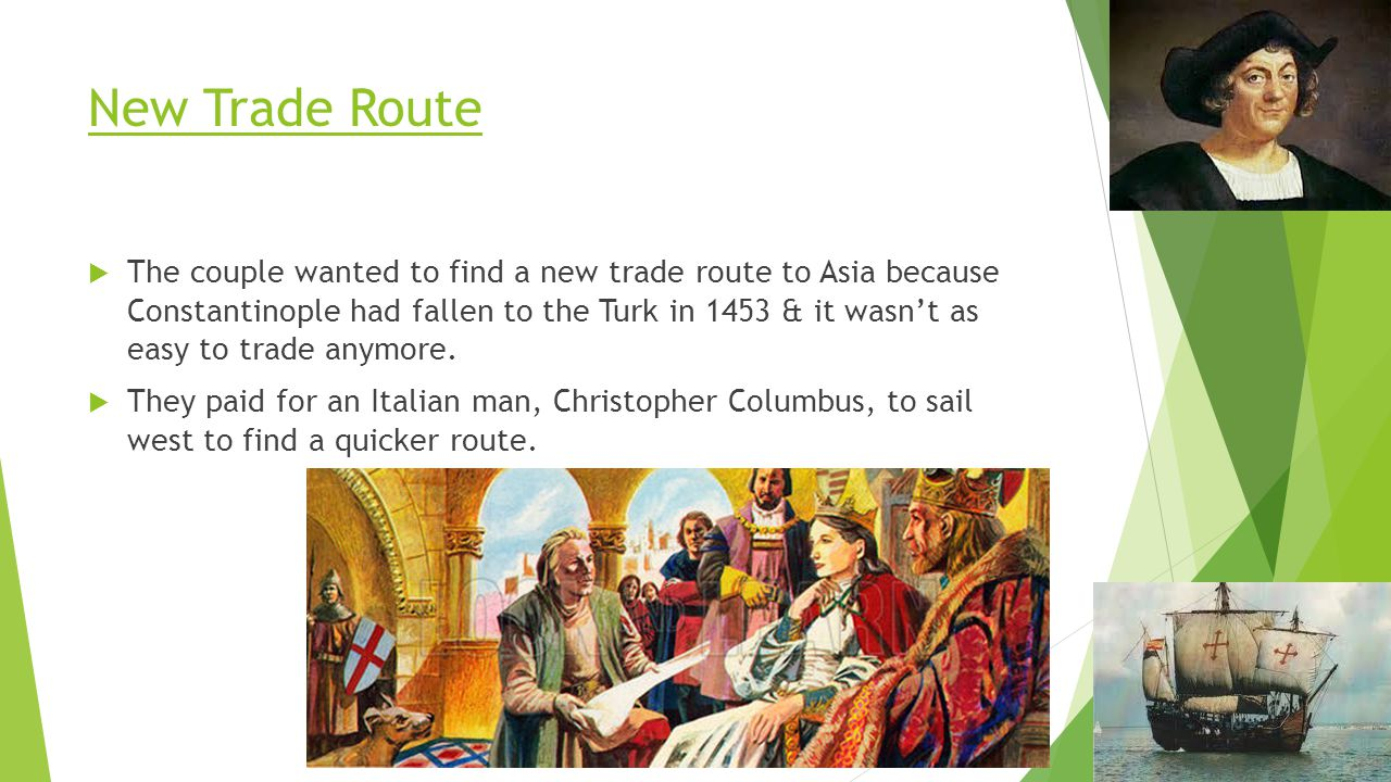 New Trade Route