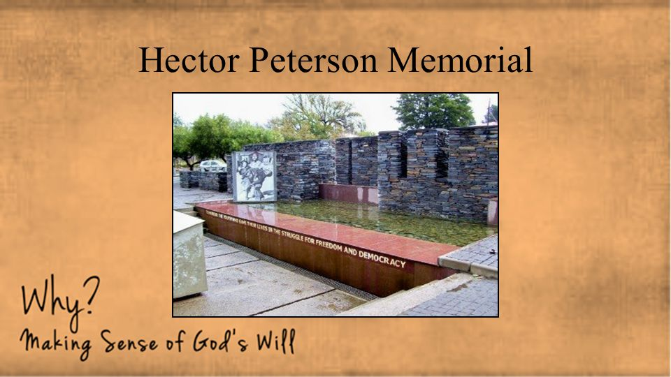 Hector Peterson Memorial