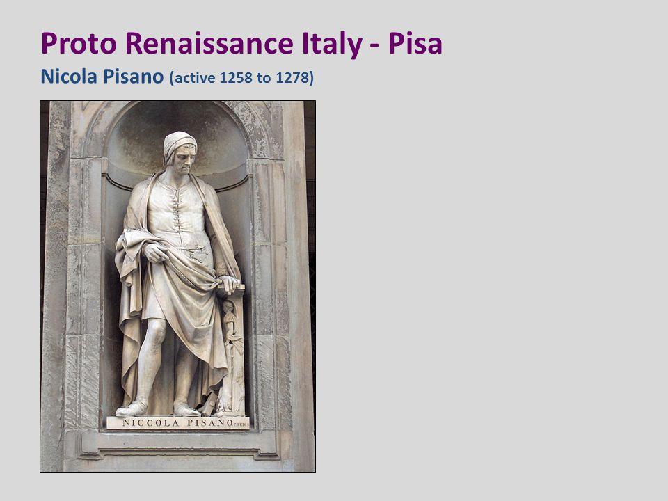 Proto Renaissance Italy - Pisa