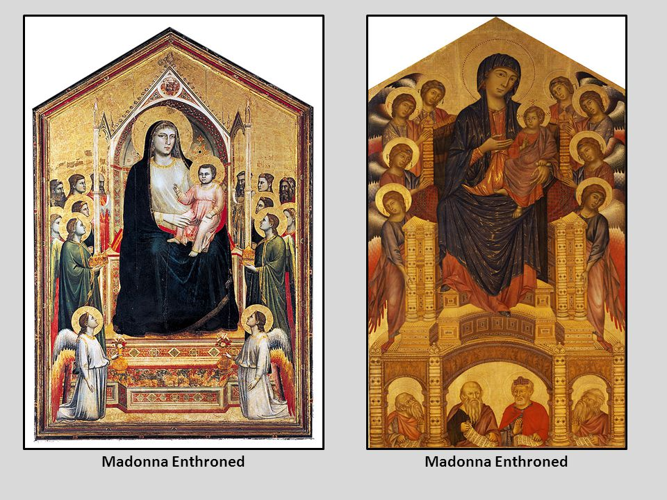 Madonna Enthroned Madonna Enthroned
