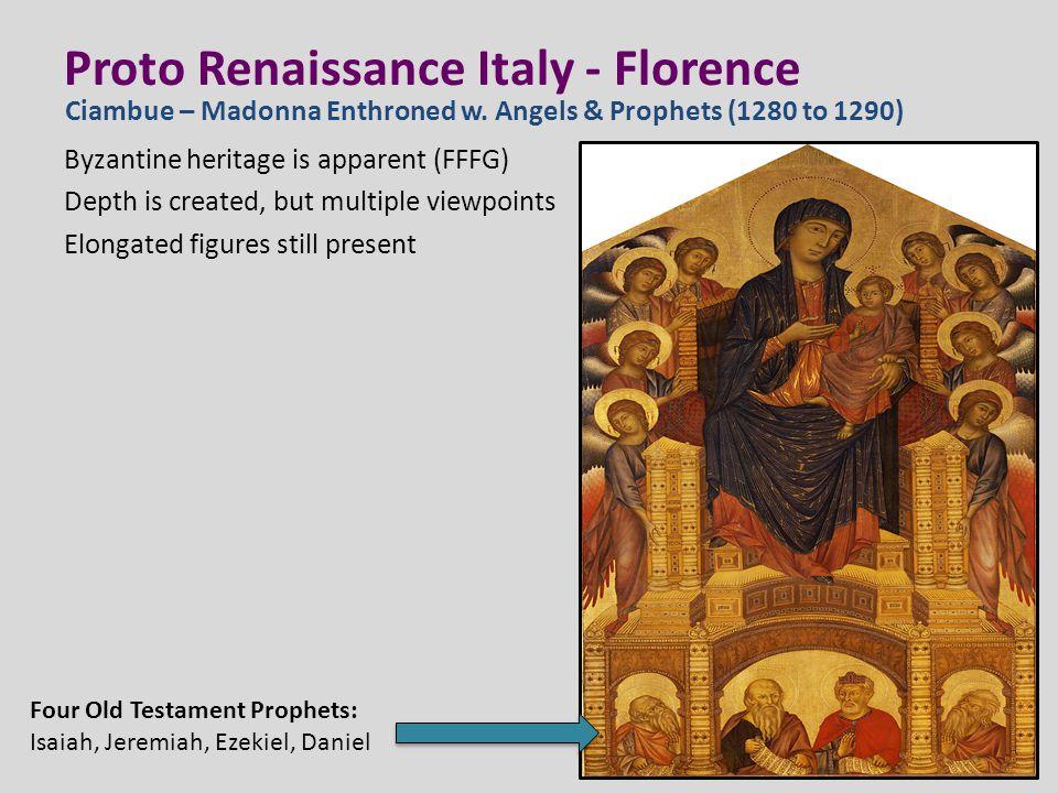 Proto Renaissance Italy - Florence