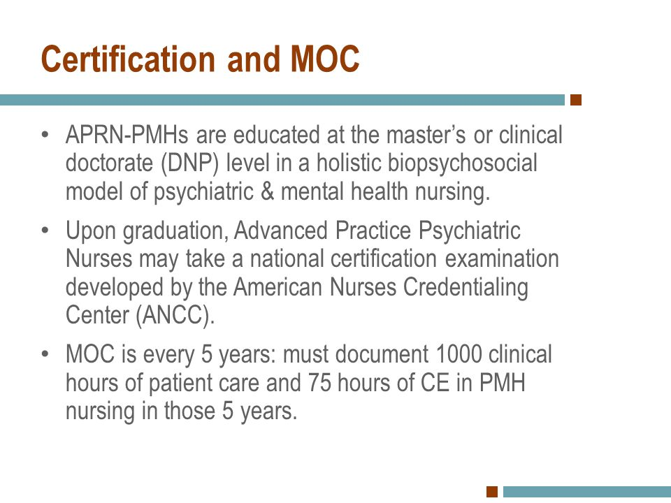 Certification and MOC