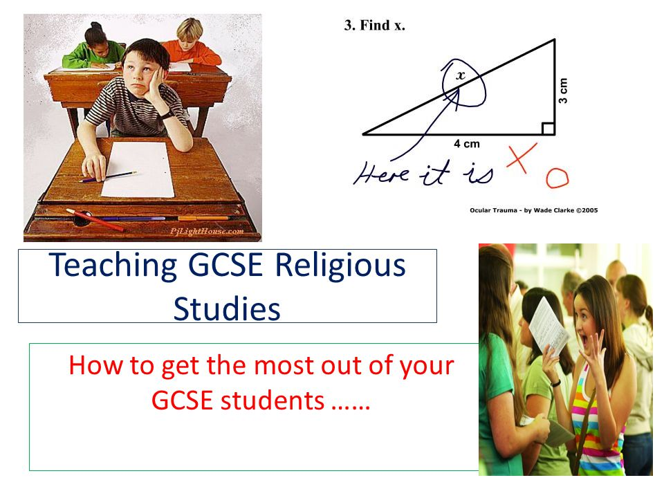 Teaching GCSE Religious Studies