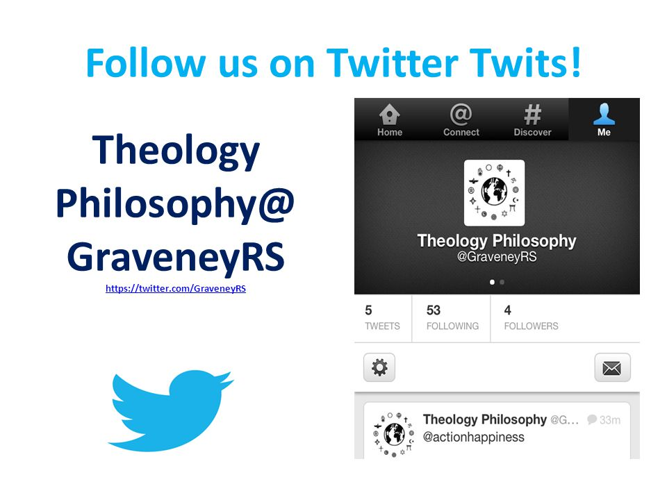 Follow us on Twitter Twits!