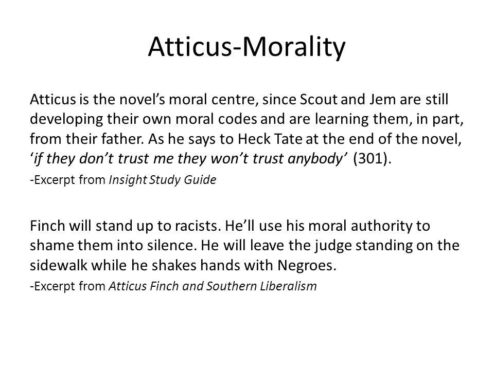 Atticus-Morality