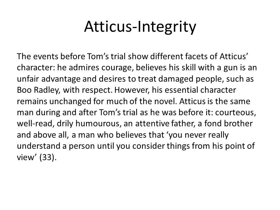 Atticus-Integrity